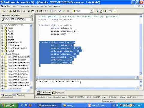 Videotutorial 11 ASP y SQL Server