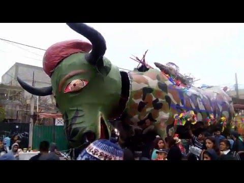 Quema De Toros Tultepec Parte 1 Youtube