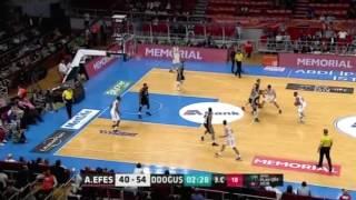 Anadolu Efes Darüşşafaka Doğuş Yarı Final 1. Maç /  Maç Özeti