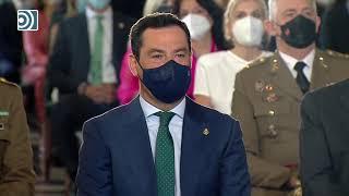 Felipe VI recibe la Medalla de Honor de Andalucía