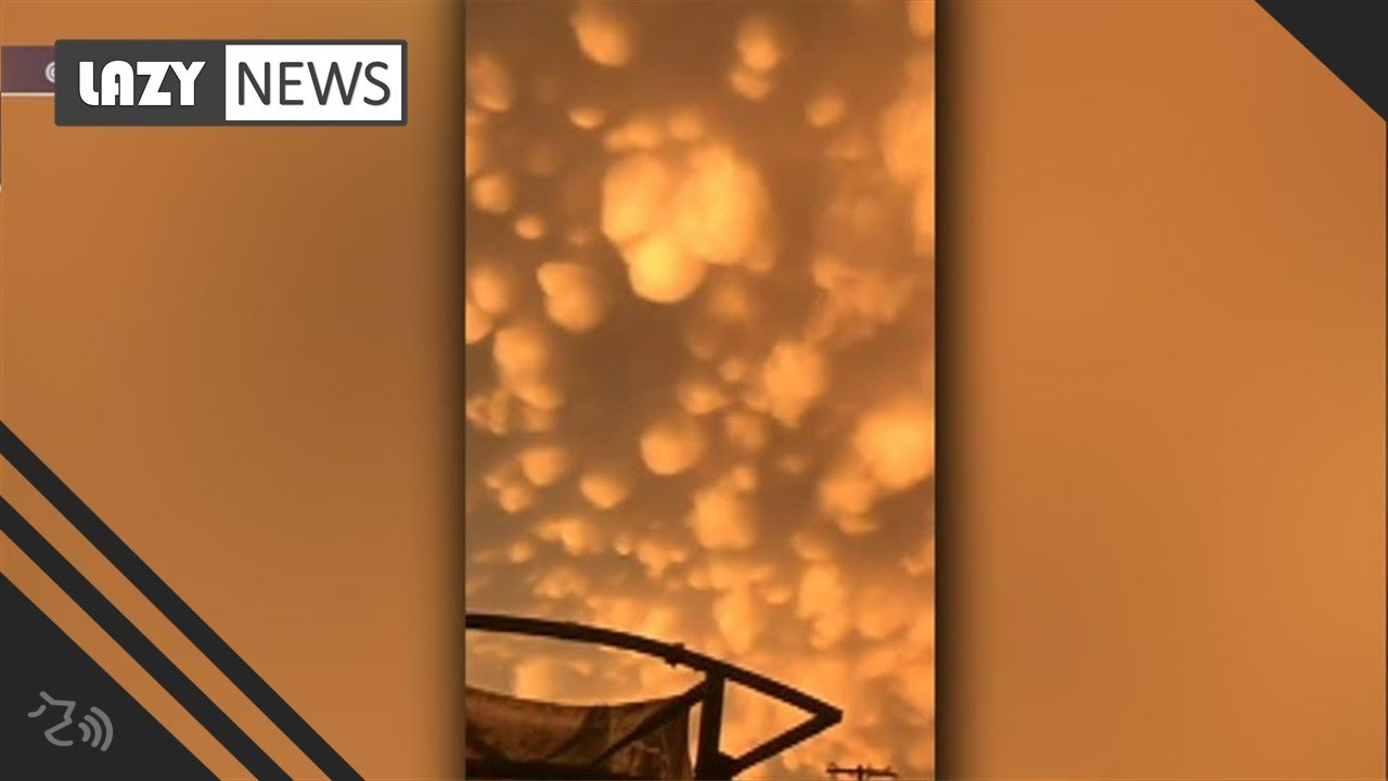 Clouds glow orange after Oklahoma storm, severe weather impacts ...
