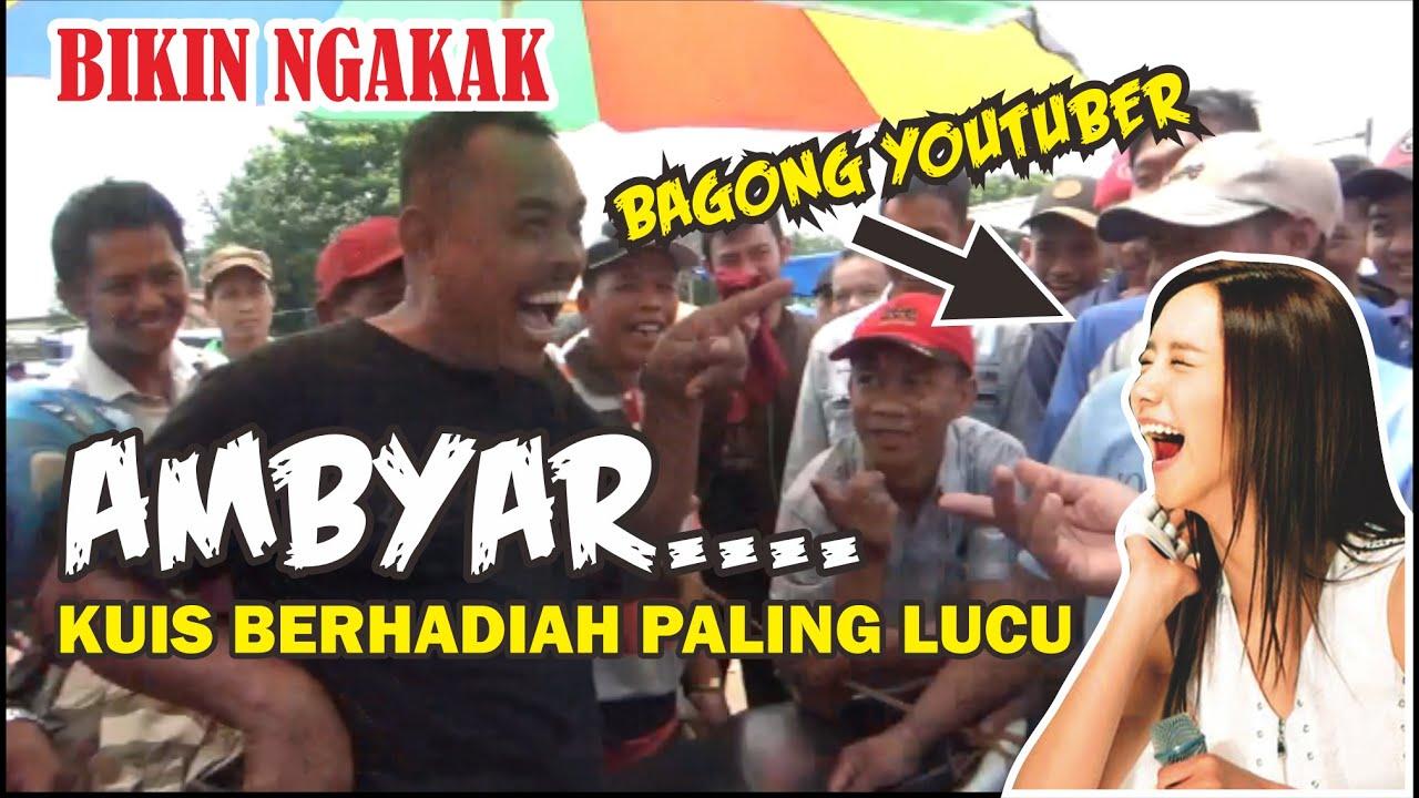 Kuis Lucu Bikin Ambyar Pasar Jatinom Pak Cemplon Youtube