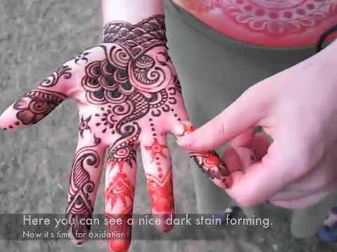 henna removal