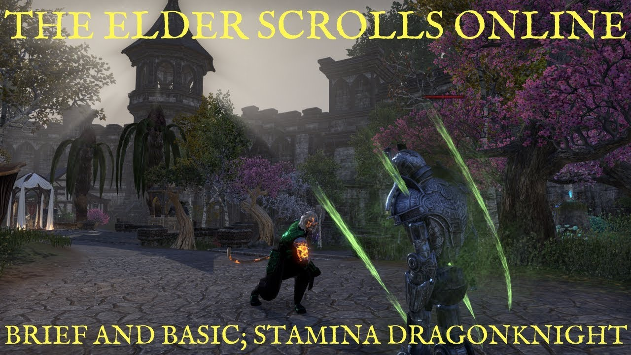 ESO Stamina Dragonknight DPS Build - Deltia's Gaming