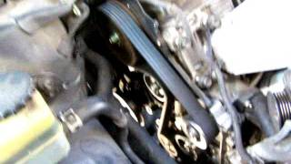 2000 Camry 2.2 running with timing covers removed