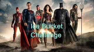 Ice Bucket Challenge - JUSTICE LEAGUE Cast
