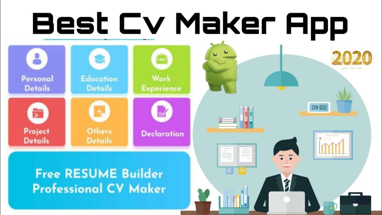 Best Cv Maker App 2020 Review Youtube