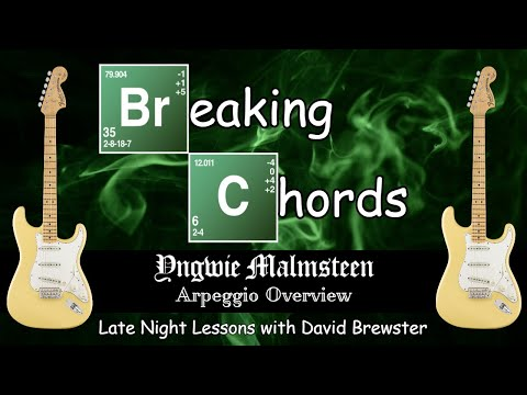 Breaking Chords - Yngwie Malmsteen Arpeggio Overview