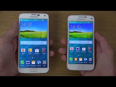 Samsung Galaxy S5 Mini vs. Samsung Galaxy S5 - Review (4K)
