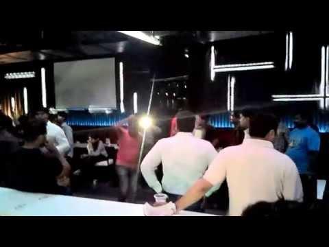 Funny Indian night club dancing