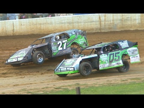 E-Mod Heat One at Stateline Speedway (Busti, NY) on Saturday, August 31st, 2019! Stateline Speedway: http://newstatelinespeedway.com. - dirt track racing video image