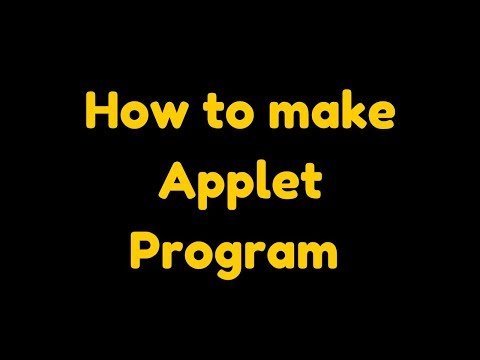 how-to-create-applet-in-java-using-notepad