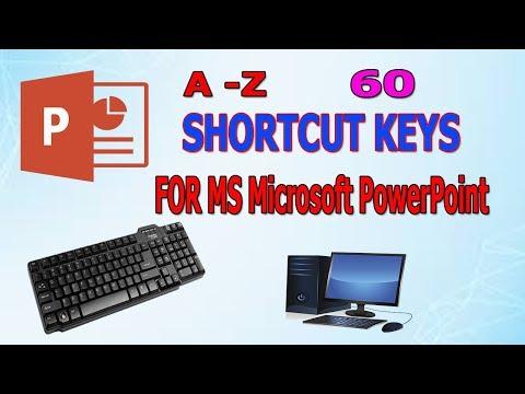 Top All 60 Keyboard Shortcuts Microsoft PowerPoint thumbnail