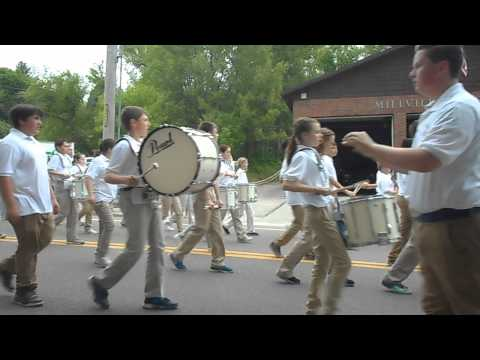Frederick W Hartnett Middle School Marching Band Blackstone, MA