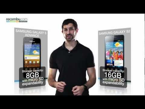 Samsung Galaxy S Advance VS Samung Galaxy S2