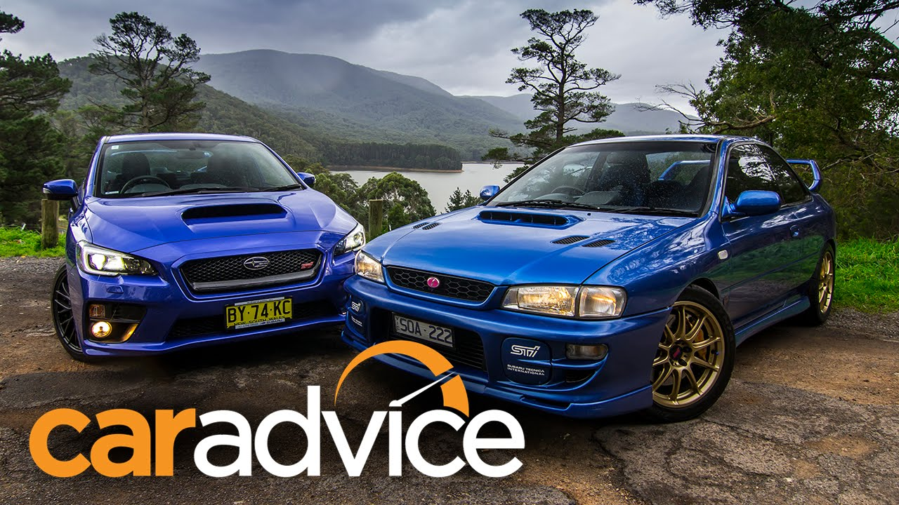 Subaru WRX STI Comparison Video 2015 Sedan V 1999 Two Door