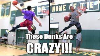 SICK Dunk Show w/ Jonathan Clark, Reemix, Staples, and Purdie! Video