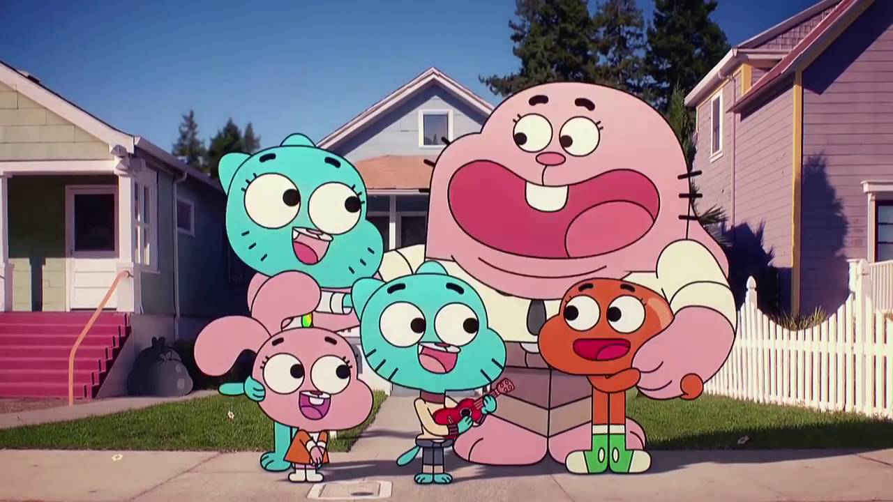 The Amazing World of Gumball Nobody's A Nobody Chords
