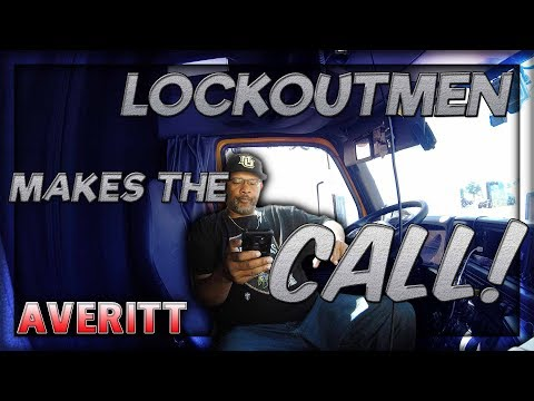 LOCKOUTMEN Makes The Call 2018: Averitt Express ep 13 | #trucking #drodgechallenge