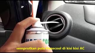 Hazecool AC Cleaner - Tutorial membersihkan sendiri AC mobil Toyota Agya