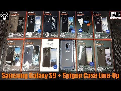 Samsung Galaxy S9 Plus Spigen Case Line-Up