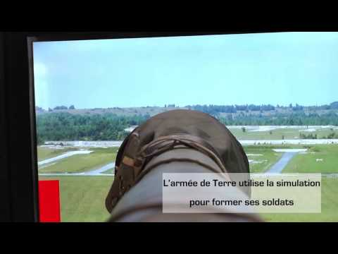 ERC 90 Sagaie : la simulation au coeur de la formation