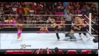 WWE Divas Catfight & Attack: A.J. Lee