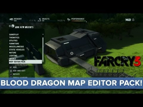 Far Cry 3 Blood Dragon Level Editor Allows Your To Make Your Own