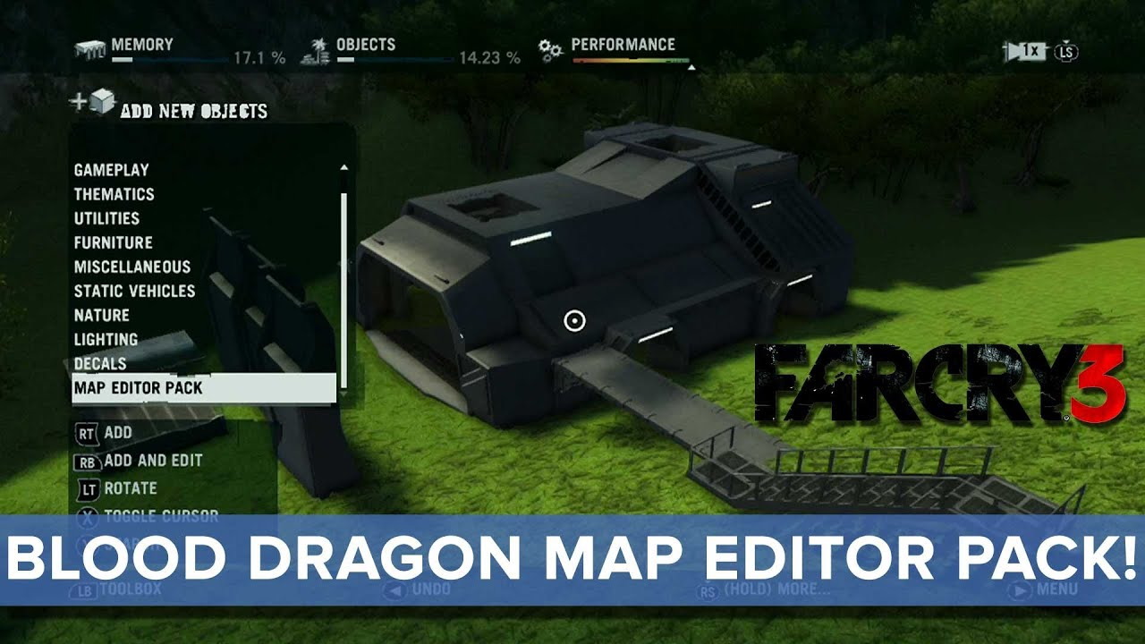 Far Cry 3 Blood Dragon Map Editor Pack News Eurogamer Youtube