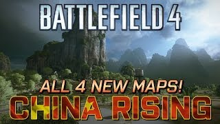 Battlefield 4: China Rising - 1440p gameplay from all 4 new maps! (PC)