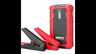 GOOLOO 600A Peak 15000mAh Portable Car Jump Starter