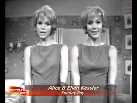 Alice & Ellen Kessler - Sunday Boy 1961