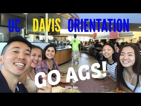 UC DAVIS ORIENTATION 2017