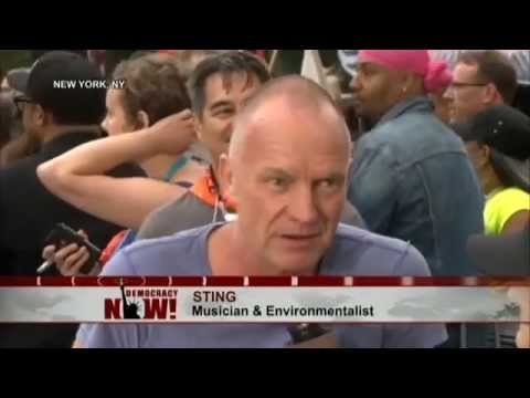 Musician Sting - Why I Am Walking with the Indigenous Bloc in People's Climate March