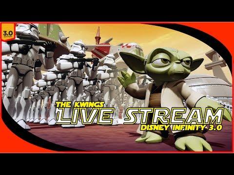 Disney Infinity 3.0 - STAR WARS: Twilight of The Republic - LiveStream Event