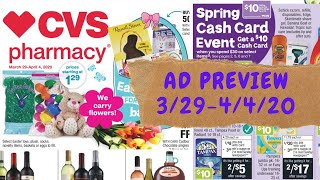 CVS Ad Preview 3/29-4/4/2020. Cheap Baby Items, Hair Care Deals \u0026