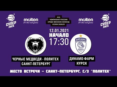 12.01.2021 17:30 Черные Медведи - Политех - Динамо-Фарм