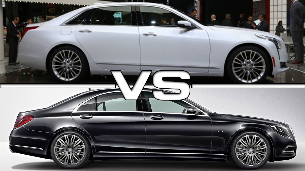 Cadillac CT6 vs Mercedes Benz S-Class - YouTube