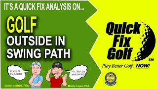 Golf Drill Outside In Swing Path