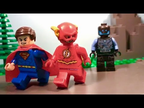 Lego Flash & Superman: The Race
