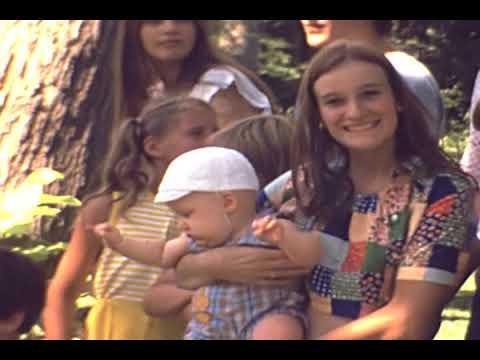 Boretsky Family- Xmas '74, Summer '75 & '76- Old Super 8mm Home Movie