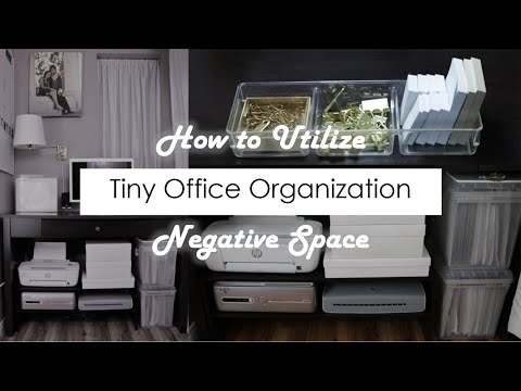 Small Office How To Organize 2018 Youtube