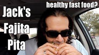 Jack's Fajita Pita Chicken Sandwich Is Damn Good Stuff (eating On The Run 20)