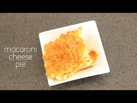 Macaroni & Cheese Pie Recipe Brooklyn Cooking