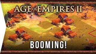 I'm a Boomer ► Age of Empires II: Definitive Edition - #4 Booming The Art of War GOLD! - AoE 2