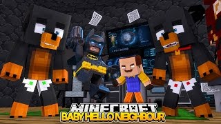 Mnecraft Baby Hello Neighbour - THE NEIGHBOUR KILLS LEGO BATMAN - Donut the Dog Minecraft Roleplay