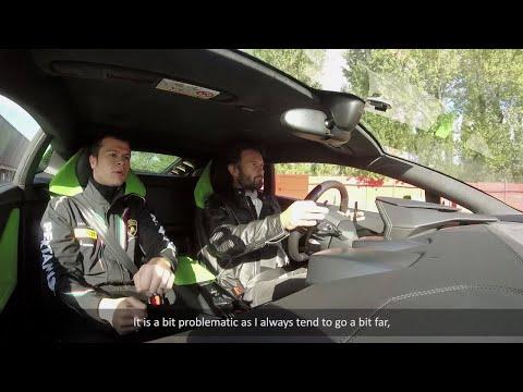 Lamborghini Esperienza: on track with Carlo Cracco