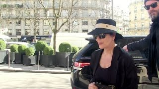 EXCLUSIVE - Momager and Producer Kris Jenner in Paris