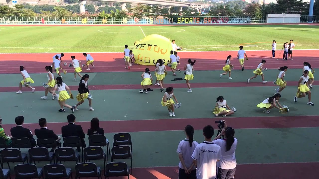 2015-2016 plkcfs 黃社啦啦隊yellow house cheering team - youtube