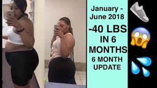 6 MONTH WEIGHT LOSS JOURNEY | -40LBS. Since January!